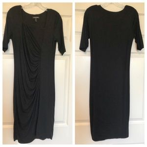 A Pea in the Pod Isabella Oliver black dress
